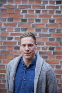 Anders Dalsaune Jansen ble valgt inn ved akklamasjon til styret i Fagrådet i går.-
