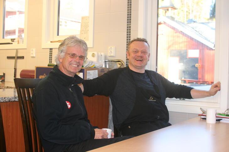 Gunnar og Roy