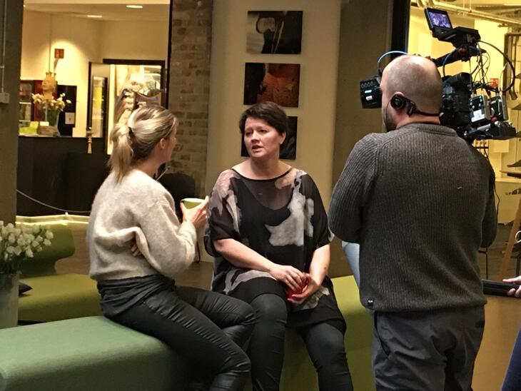 Leder Anita Holmestad ble intervjuet om Tyrili-tilbudet.