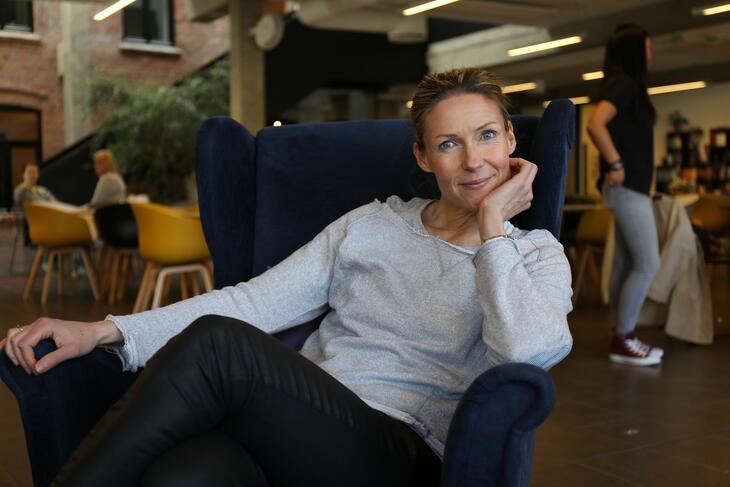 Helene Sandvig på Tyrilisenteret