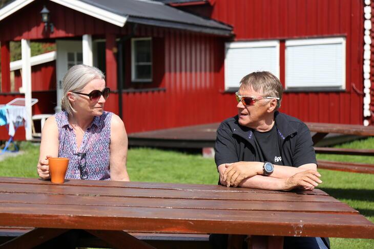 Ekteparet Solbjørg Sunde og Kjell Brennodden