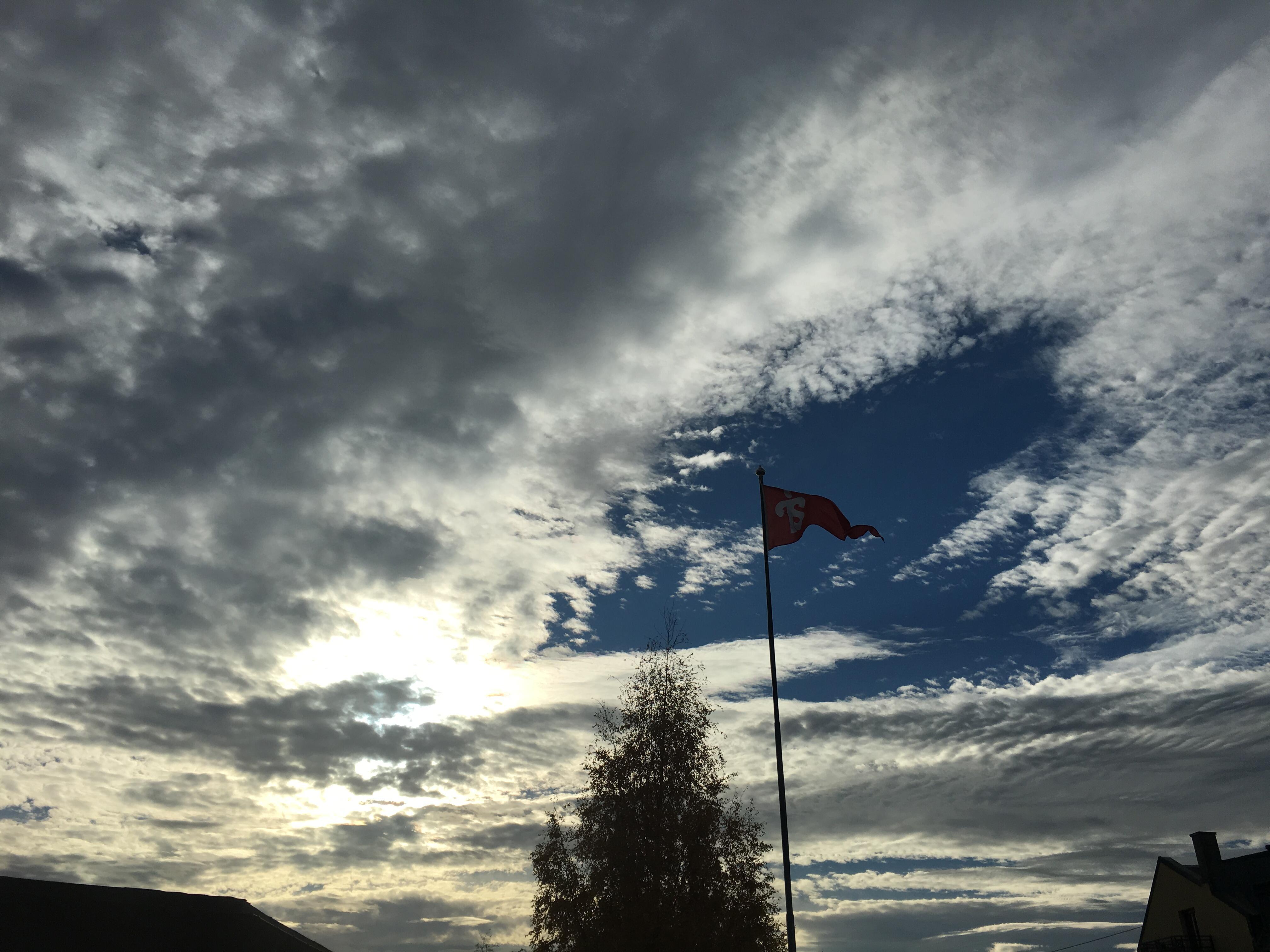 Tyrilivimpel mot himmel