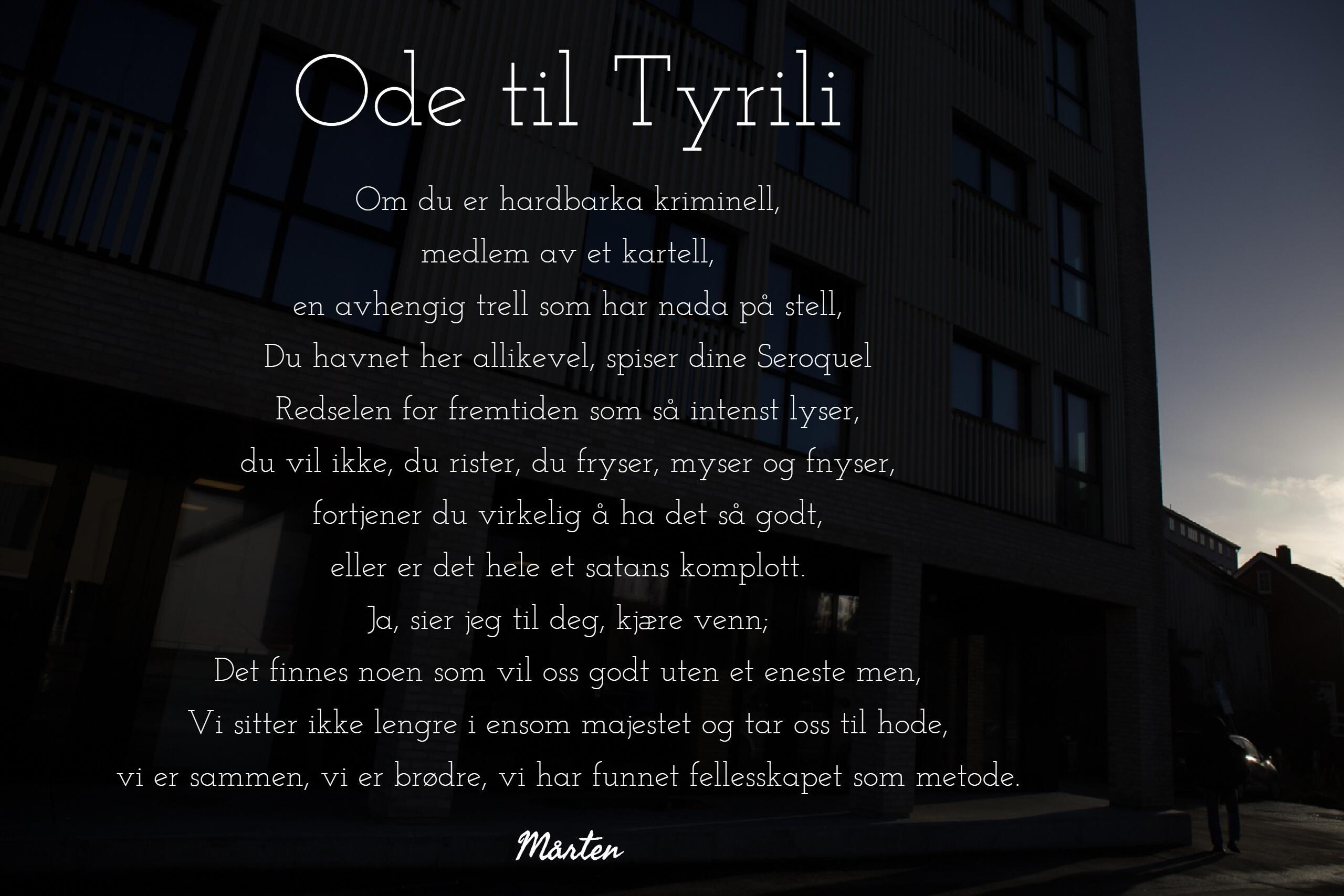 Ode til Tyrili
