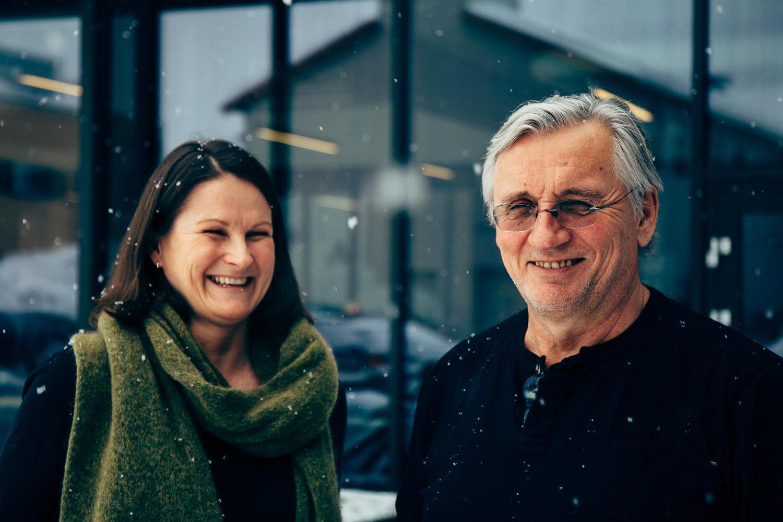 Eva Tveit og Alf Sandve i Tyrili IPS (TIPS).