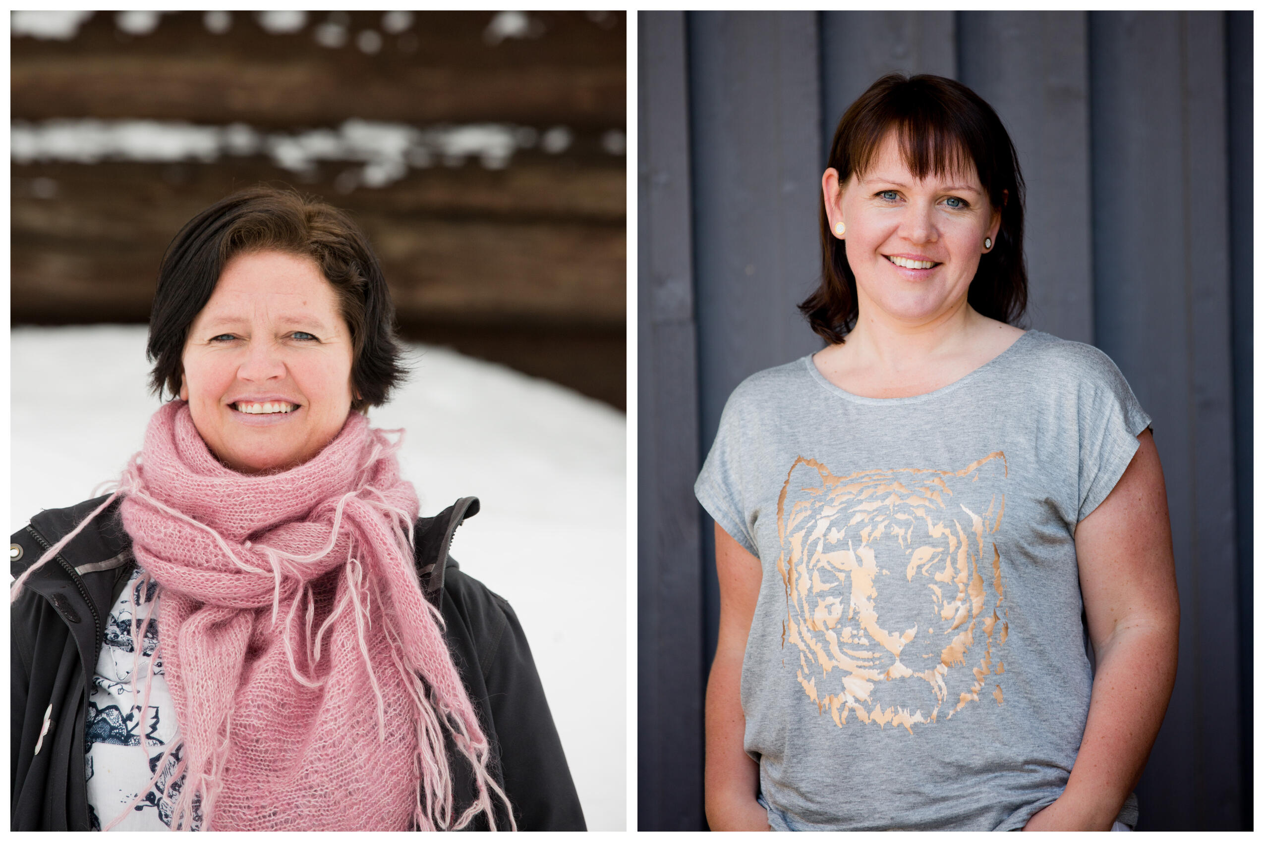 Anita Holmestad og Hilde Andresen Aarhus