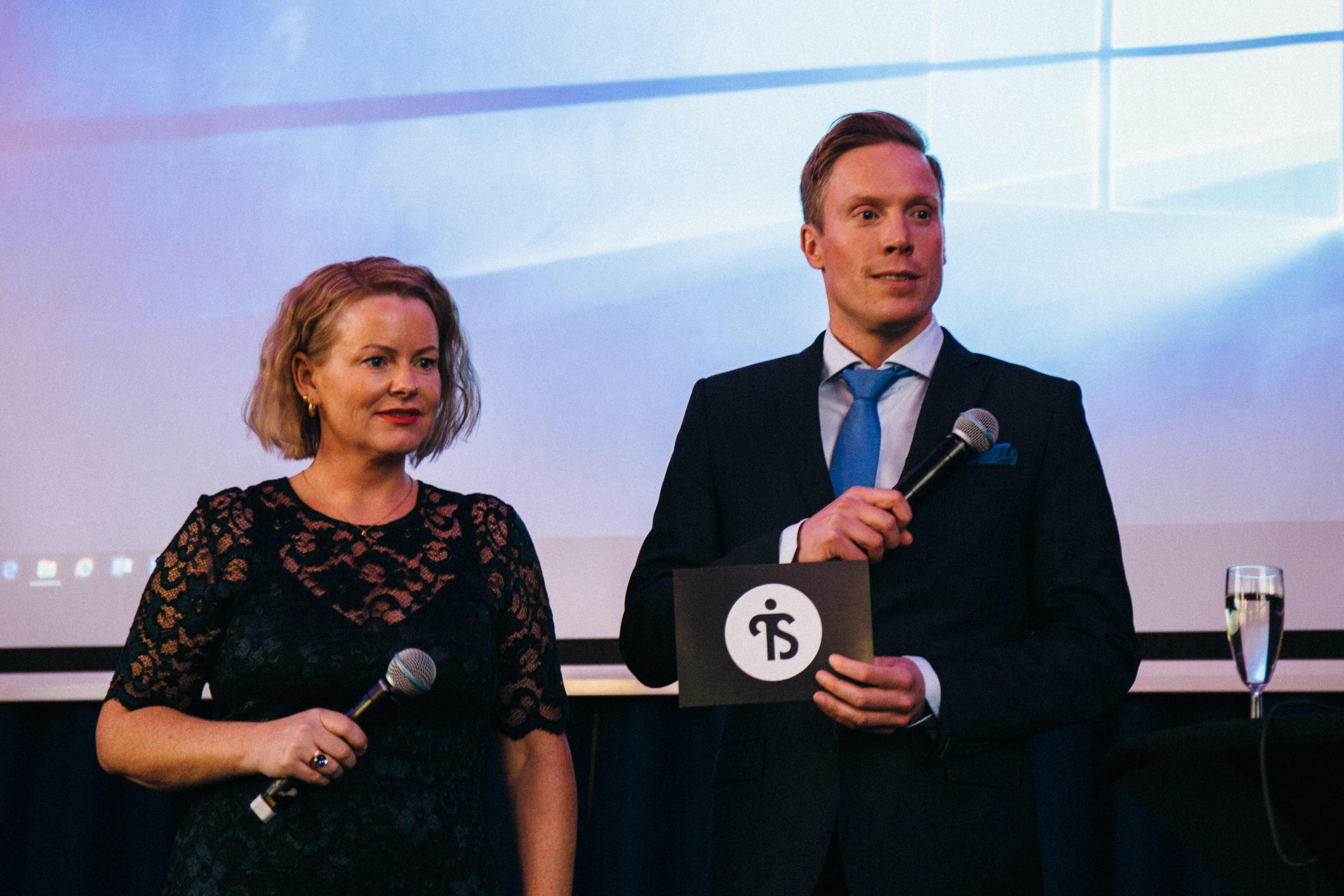 Tyrilistiftelsens nestleder Camilla Fjeld og leder Anders Dalsaune Jansen ledet deltagerne gjennom dagen.