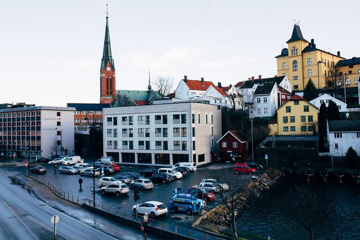 Tyrili Arena Arendal, som åpnet våren 2018. Foto: Anders B. Bisgaard