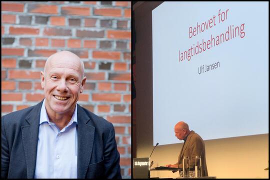 Ulf Jansen: – Våre pasienter fortjener gullkort