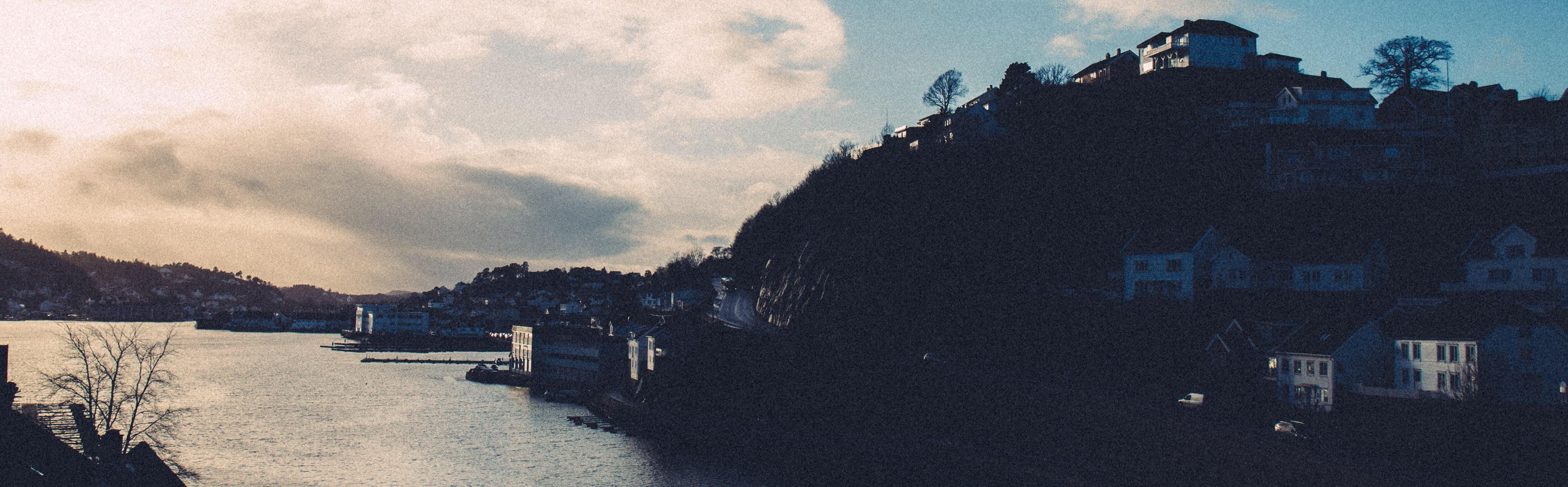 Utsikt over Arendal.